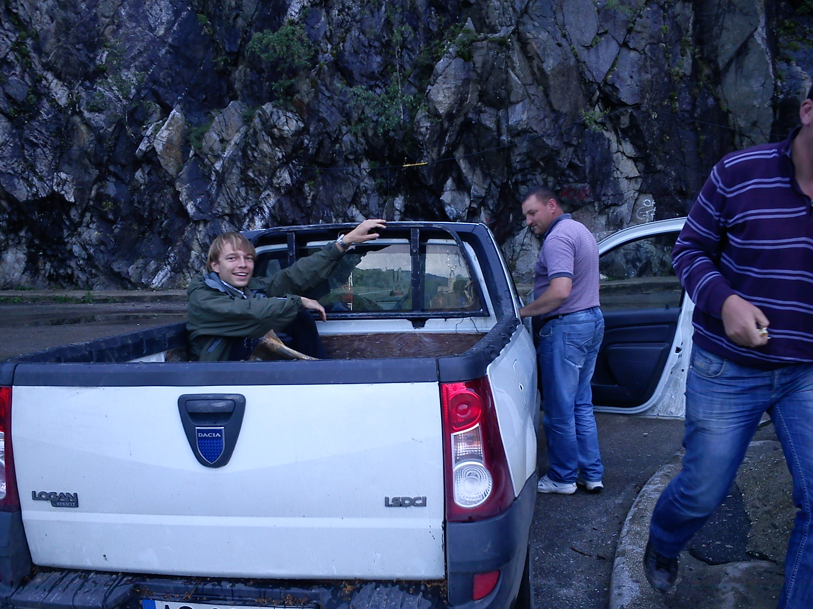 hitched a pickup in Transfagarasani, what an amazing ride that was. Fortunately, not the last time we hitched a pickup!